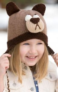 Bashful Bear Hat