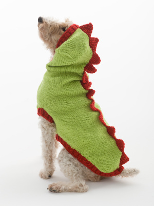 Knitting Patterns Galore The Dragon Slayer Dog Sweater