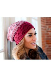 Cable Brim Hat