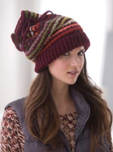 Drawstring Slouch Hat
