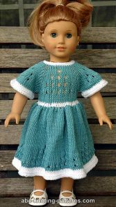 American Girl Doll Eyelet Dress