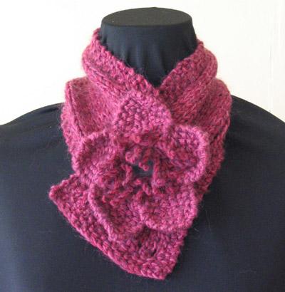 Knitting Patterns Galore - Flora