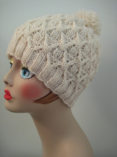 Knitting Patterns Galore Wickerwork Hat