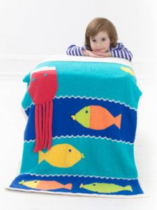 Fishy Wishy Afghan