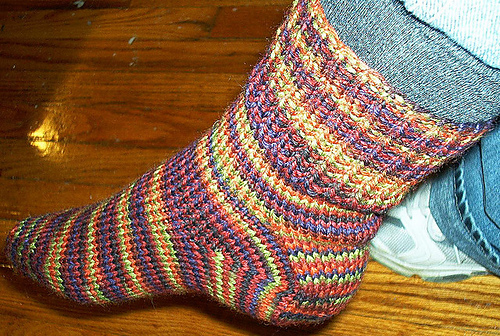 Knitting Patterns Galore Worsted Weight Socks