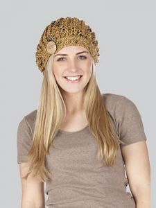 Bardelino Buttoned Beret