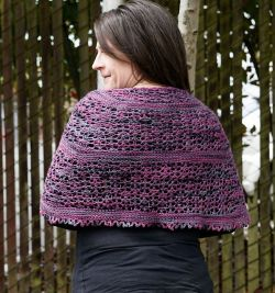 April in Atlanta Shawl