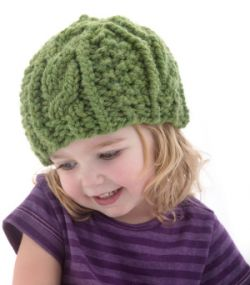 Cabled Cozy Hat