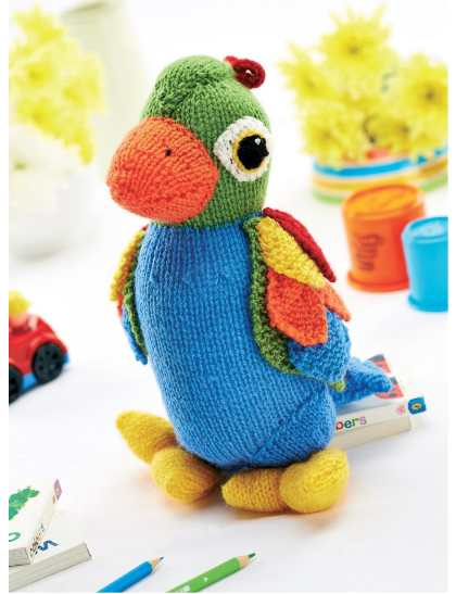 Parrot Knitting Pattern Free : Knitting Patterns Galore - Jason Parrot