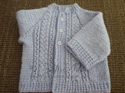 Handsome Cables Baby Boy Cardigan