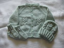 Little Owl Sweater Set