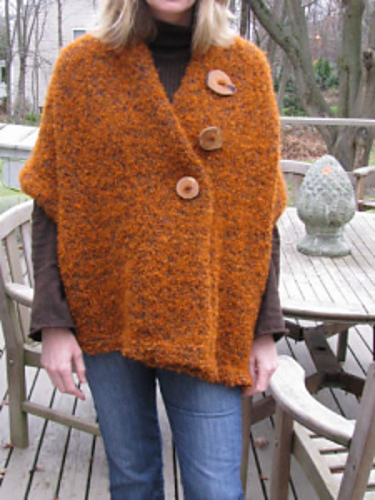 Knitting Patterns Galore Easy 3 Button Shawl
