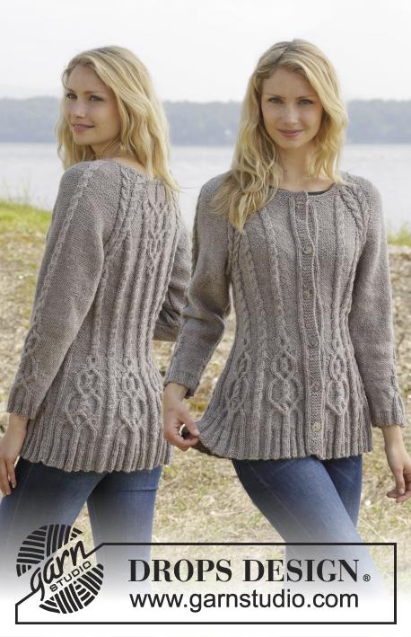 Knitting Patterns Galore Alana Cardigan