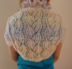 Lacy Bellflowers Shrug
