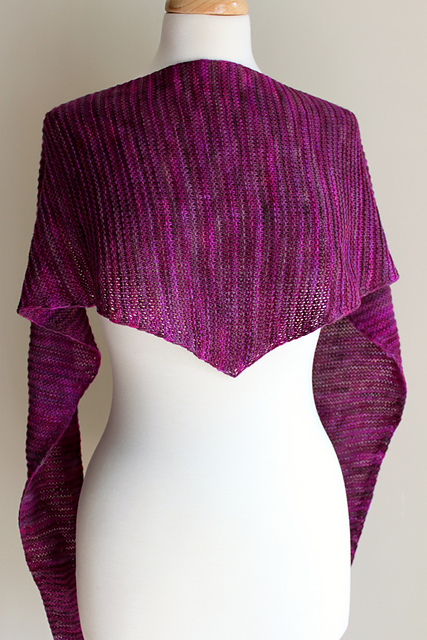 Knitting Patterns Galore Totally Triangular Scarf
