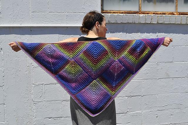 Poncho Cardigan Sweater