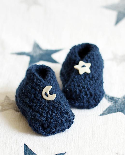 Knitting Patterns Galore Bitty Baby Booties