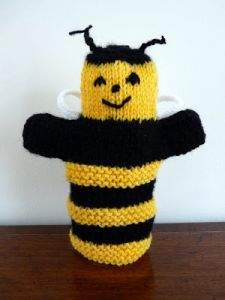 Bumble Bee Puppet