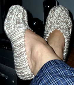 Mrs. Fisher's Slippers