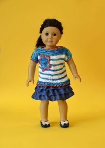 "18"" Doll Little Patriot"