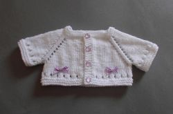 Mini Maxine Baby Cardigan Jacket