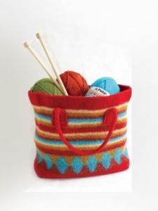 Felted Shopping Bag
