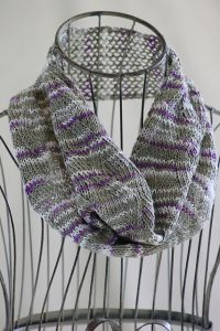 Zigzag Ribbon Stitch Cowl