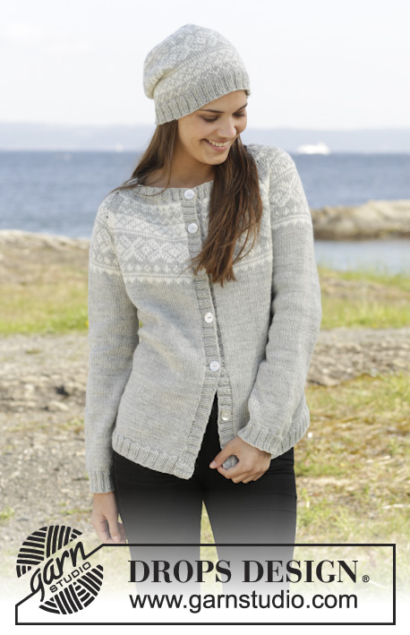 Knitting Patterns Galore Silver Dream Cardigan