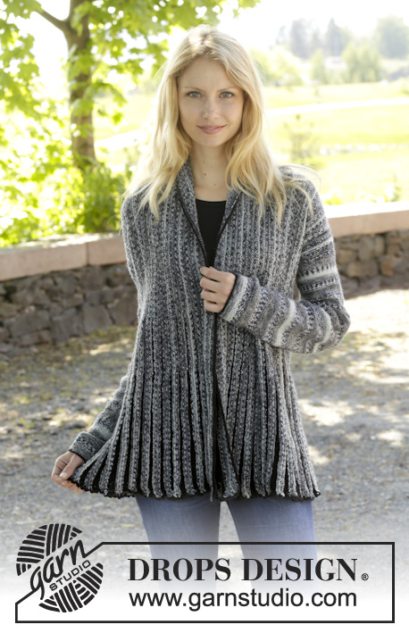 Free Knitting Pattern Short Jacket : Short Row Shawl Collar LONG HAIRSTYLES
