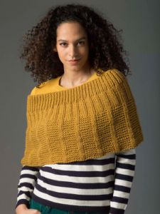 Level 2 Knit Poncho