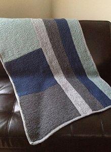 Knitting Patterns Galore Wesley Crib Blanket