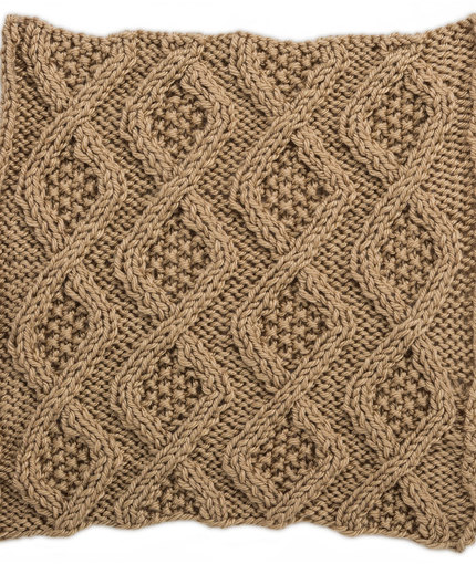 Knitting Patterns Galore Seed Stitch Diamonds Square For Knit Your