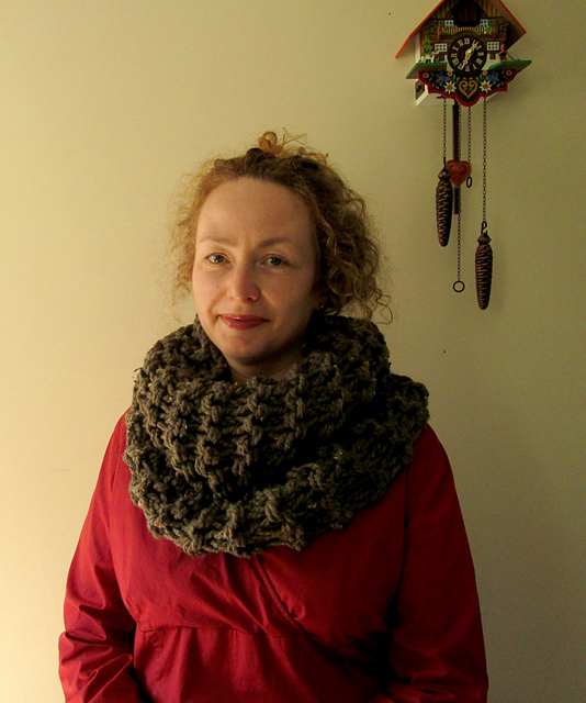 Knitting Pattern Outlander Cowl : Knitting Patterns Galore - Sassenach Claire Outlander Cowl