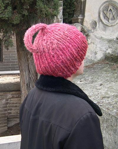 Knitting Patterns Galore Klein Bottle Hat