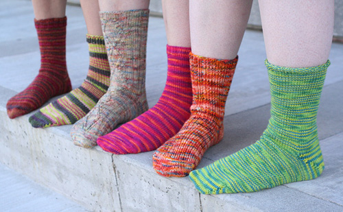 Knitting Patterns Galore Universal Toe Up Sock Formula
