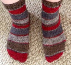 Easy Magic Loop Socks