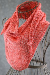 Star Cluster Mini Shawl