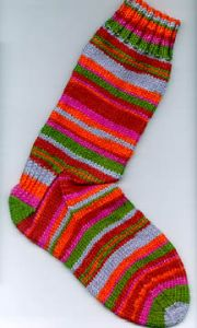 56 Stitch 56 Row Sock