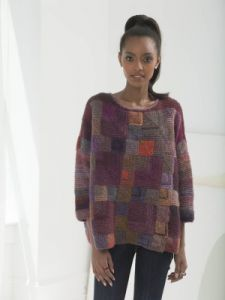 Painterly Mitered Pullover