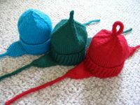 Infant Earflap Hats