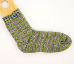 Basic Toe-Up Sock