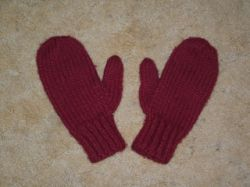 Wool-Ease Mittens