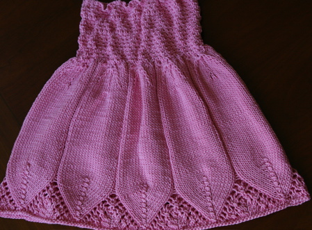 Knitted Dress Pattern For 2 Year Old : child s dress item type dresses yarn weight dk suggested ...