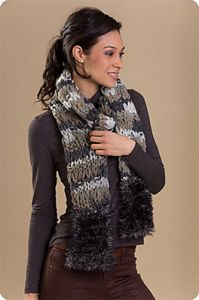 Fur-End Scarf