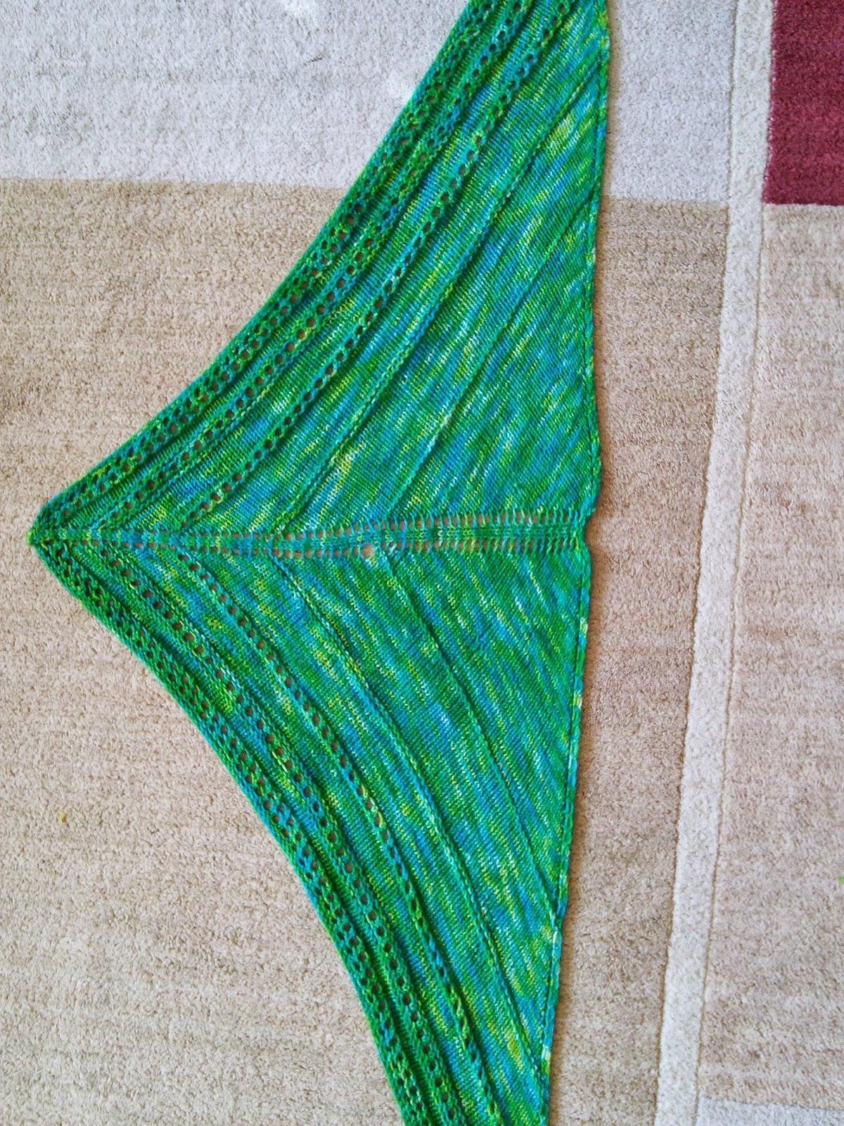 Knitting Patterns Galore - Torla Shawl
