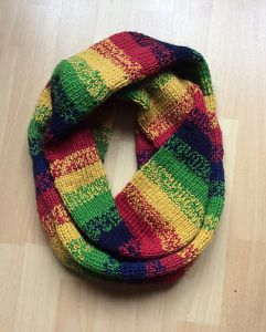 Rainbow Loop Scarf