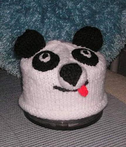 Knitting Patterns Galore Easy Fun Panda Hat