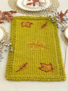Leaf Strewn Table Runner