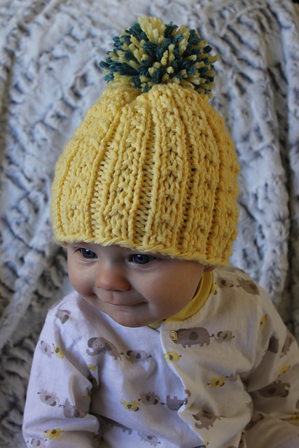 Knitting Patterns Galore Kids Banana Beanie