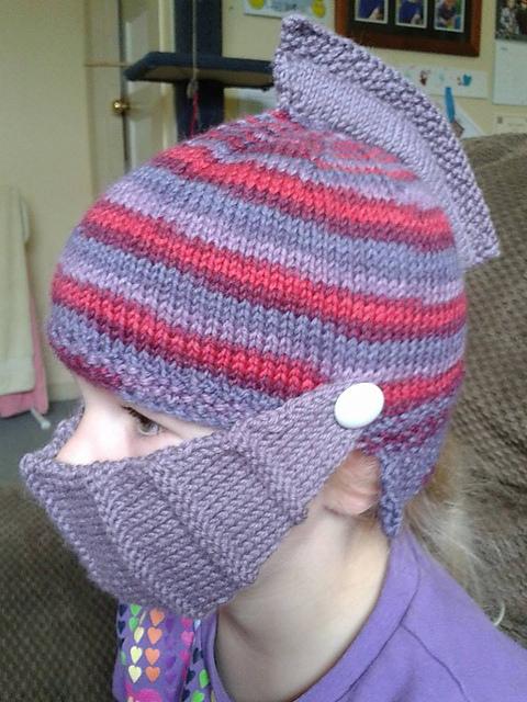 Knitting Patterns Galore Easy Knight Helmet